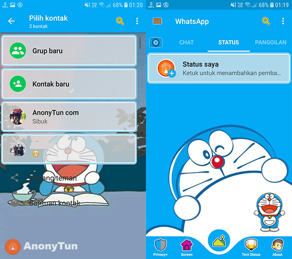 Download WhatsApp Doraemon