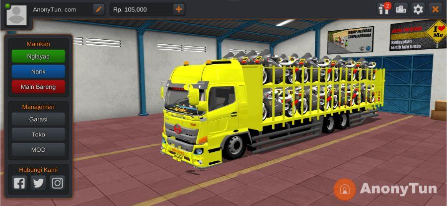 Truck Hino 500 NG HSD Muatan Motor